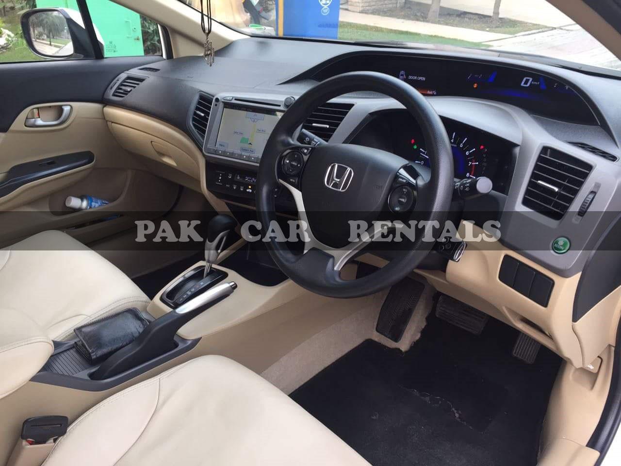 Honda Civic 2015-16 A.T full