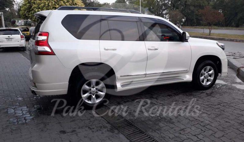 Rent Land Cruiser Prado 2018 full